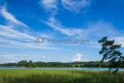 <h5>Järvi ja sininen taivas</h5><p>Sininen taivas maalaa järvimaisemaa. Tunnus: img_3761</p>