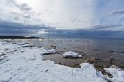 <h5>Itämeri talvella</h5><p>Luminen maa ja jäätön meri on näyttävä kontrasti. Tunnus: img_8170</p>