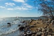 <h5>Merenrantaa Lauttasaaressa</h5><p>Lauttasaaren edustalta meri aukeaa avomereksi. Kuva on otettu huhtikuussa. Tunnus: img_1129</p>