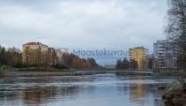 <h5>Oulunjoki keväällä</h5><p>Toukokuussa otettu kuva Oulunjoesta. Tunnus: img_2258</p>