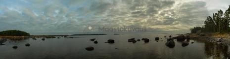 <h5>Panoramakuva ulkosaaristosta</h5><p>Porvoon edusta, ulkosaariston laidalla. Tunnus: taimen_panoraama1</p>