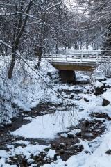 <h5>Pieni puro</h5><p>Niukkavetinen puro Oululaisen puiston keskellä. Tunnus: img_5142</p>