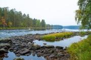 <h5>Ruskainen jokimaisema</h5><p>Lieksanjoki Pohjois-Karjala. Tunnus: img_1056</p>