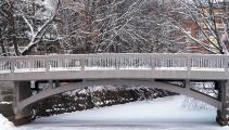 <h5>Silta Oulussa</h5><p>Kävelytien silta, joka voi oululaiseen puistoon. Tunnus: img_5155</p>