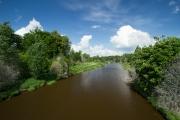 <h5>Vantaanjoki Haltialassa</h5><p>Alkukesällä otettukuva Vantaanjoelta Tammiston ja Haltialan sillan päältä. Tunnus: img_8615</p>