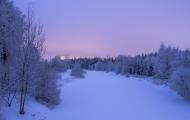 <h5>Vantaanjoki Talvella</h5><p>Vantaan Tammiston kohdalla napattu kuva talvisesta Vantaanjoesta. Tunnus: img_8499</p>